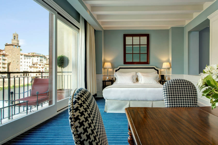Lungarno Collection Hotel Firenze - Suite Picasso con vista sull'Arno