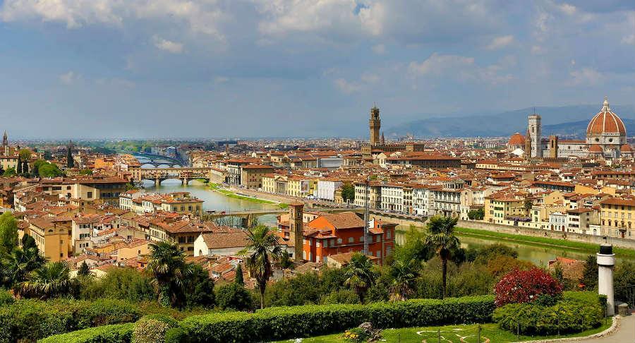 Lungarno Collection Hotel Firenze - Vista panoramica di Firenze