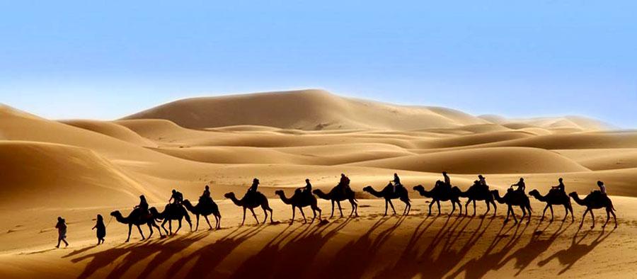 Amanjena - resort esclusivo a Marrakech - Marocco - Escursioni nel deserto del Sahara