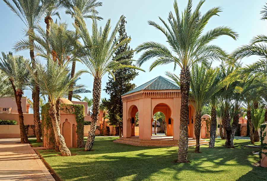Amanjena - resort esclusivo a Marrakech - Marocco - giardini
