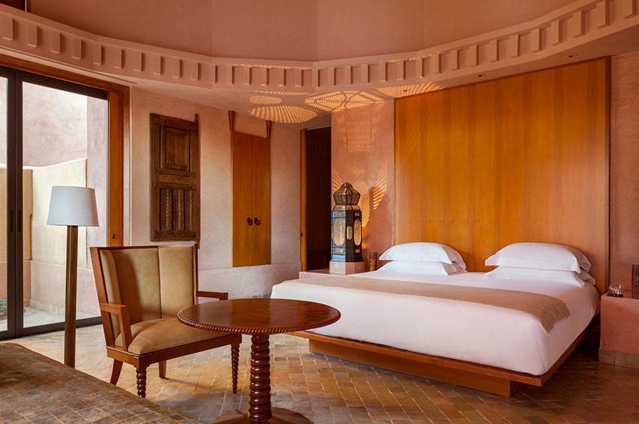 Amanjena - resort esclusivo a Marrakech - Marocco - Camere dei padiglioni