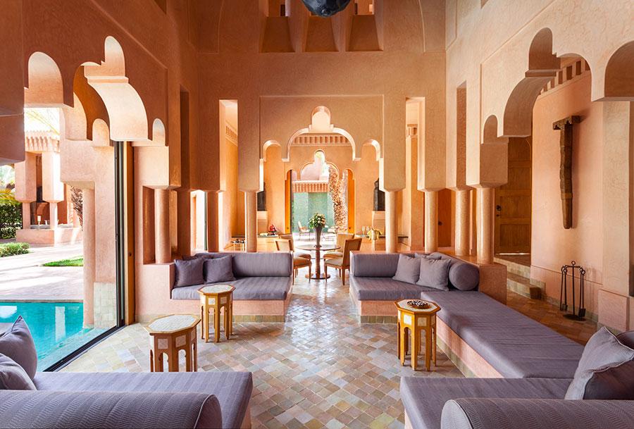 Amanjena - resort esclusivo a Marrakech - Marocco - Maison Jardin-Living Area