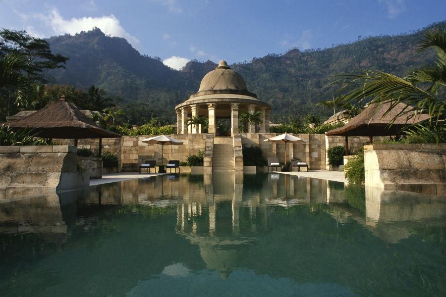 Amanjiwo Resort - isola di Java - Dalem Jiwo Suite pool
