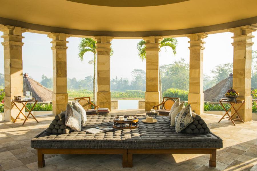 Amanjiwo Resort - isola di Java - Dalem Jiwo Suite rotunda