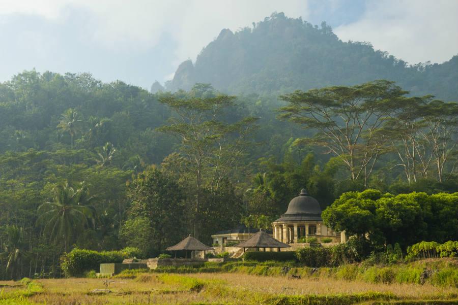 Amanjiwo Resort - isola di Java - Dalem Jiwo Suite and the Menorah