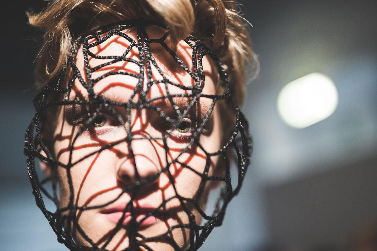 sfilata di Accademia Costume & Moda Pitti filati Crediti proj3ct studio