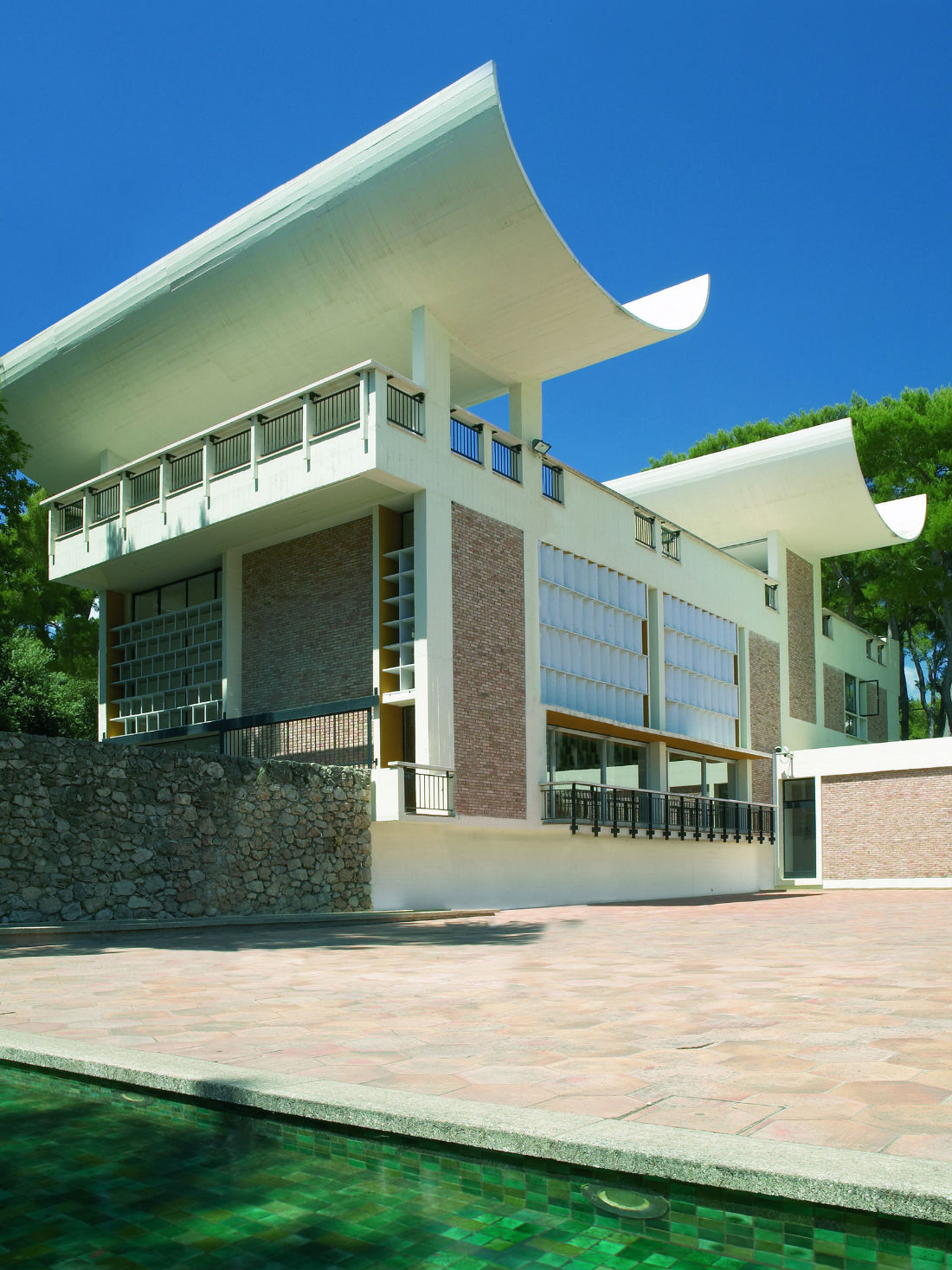 La Fondation Maeght et l'architecture de Josep Luis Sert ©Archives Fondation Maeght