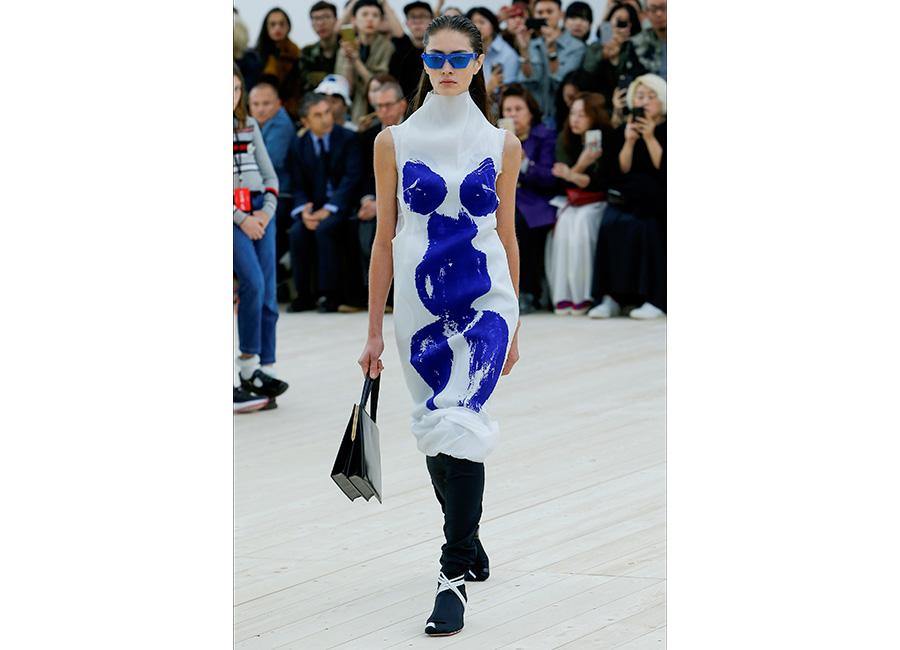 Moda Futurista - immagini di sfilata di Céline SS2017