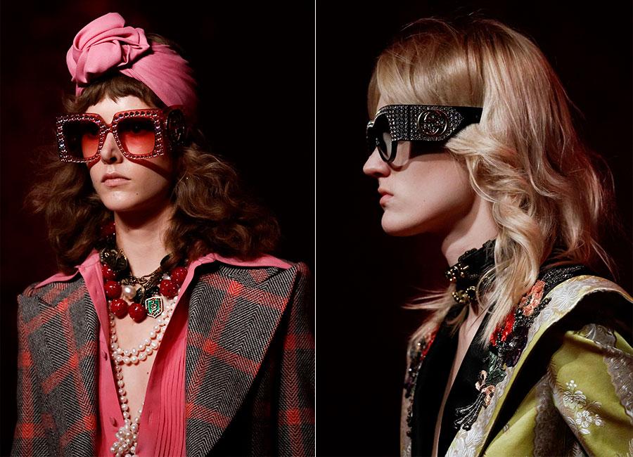 Moda Futurista - immagini di sfilata di Gucci SS2017