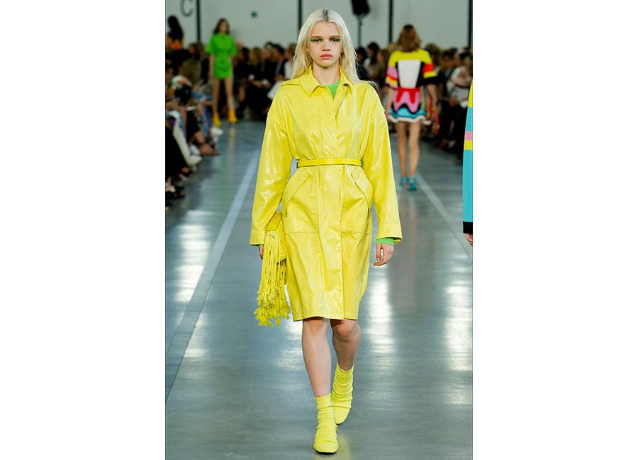 Moda Futurista - immagini di sfilata di Emilio Pucci