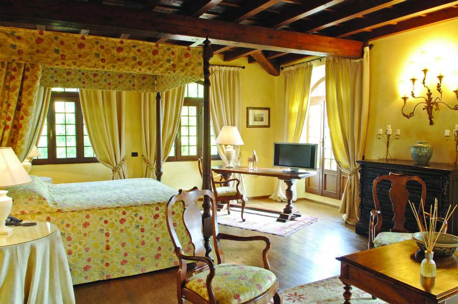 Camera dell'Hotel Torre di San Martino