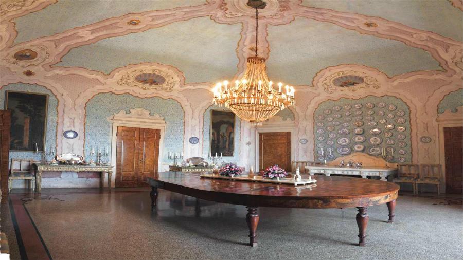 Sala da Pranzo del Castello di Rivalta