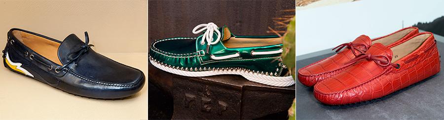 Scarpe da barca - Car Shoe, Christian Louboutin, Tod's