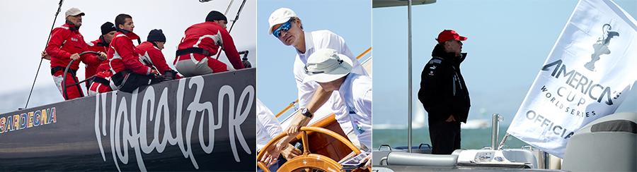 Scarpe da barca - Vincenzo Onorato, Ernesto Bertarelli, Larry Ellison