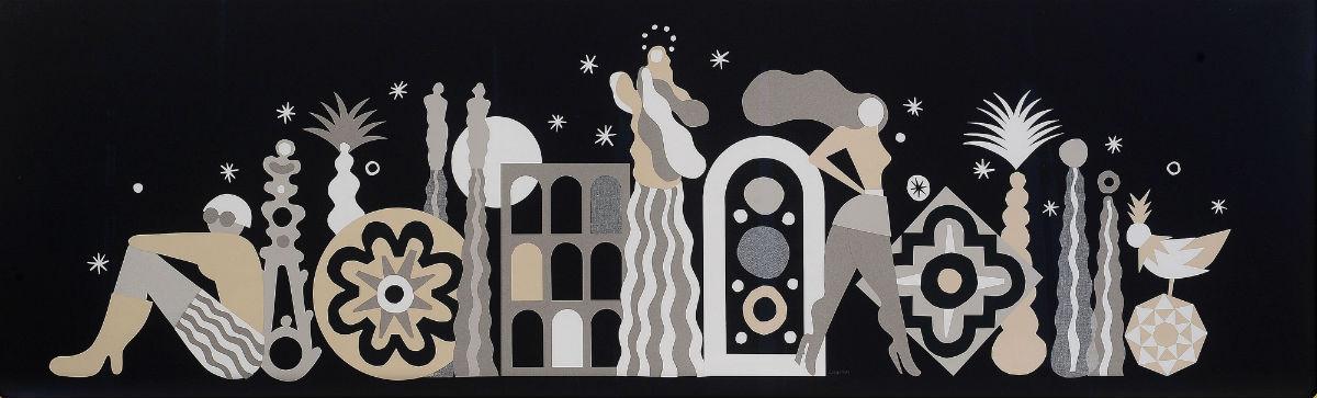 Tiffany & Co. - opera d'arte di Gio Pastori
