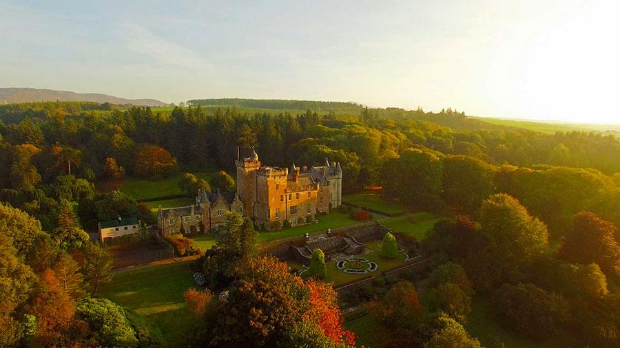 Glenapp Castle - Campagna dell'Ayrshire