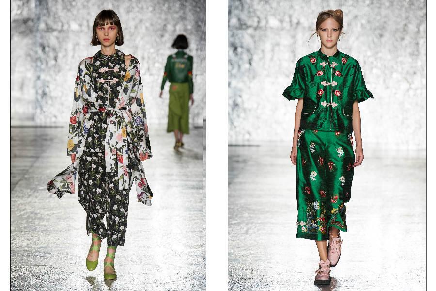 Kimono - sfilata di Vivetta, SS2017
