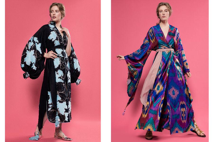 Kimono - sfilata di Yuliya Magdych, SS 2017