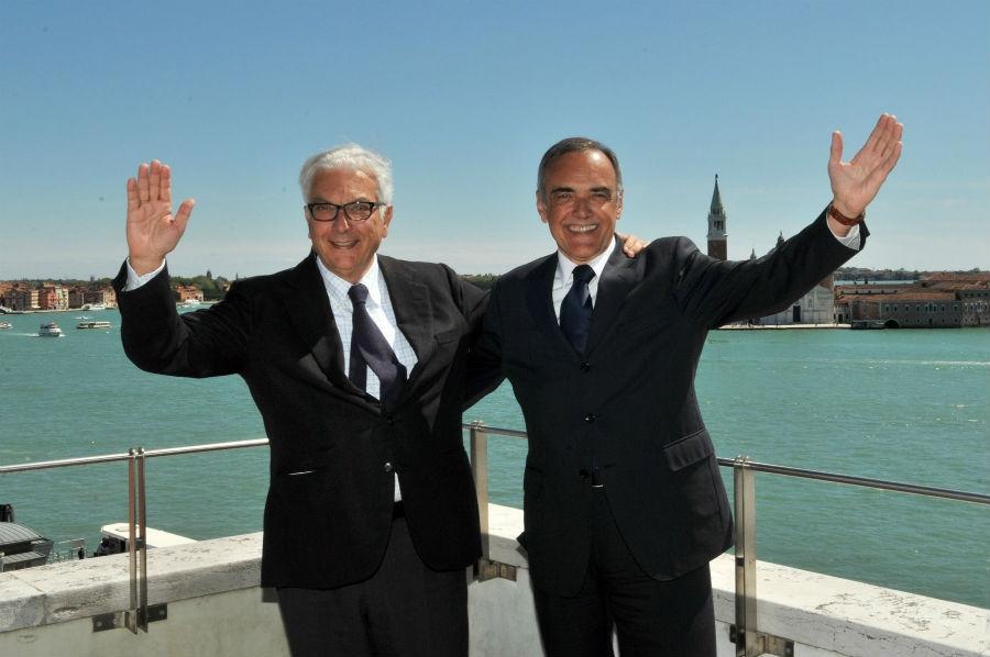 Paolo Baratta e Alberto Barbera