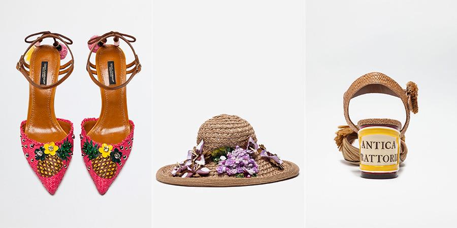 Paglia - ss2017- accessori di Dolce&Gabbana SS2017