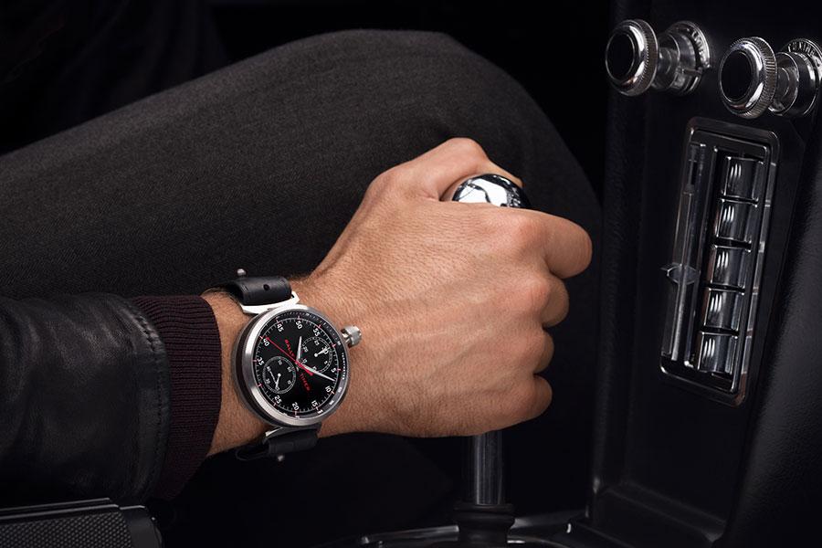 TimeWalker di Montblanc indossato al polso