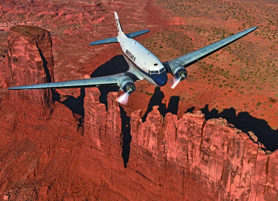 Breitling Navitimer DC-3 Un sorvolo della Monument Valley