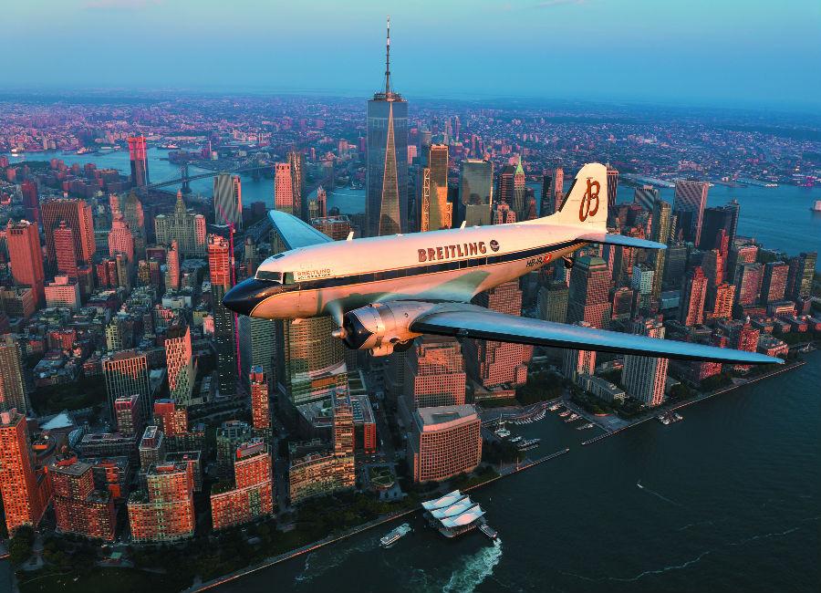 Breitling Navitimer DC-3 Tra le tappe del World Tour non poteva mancare New York