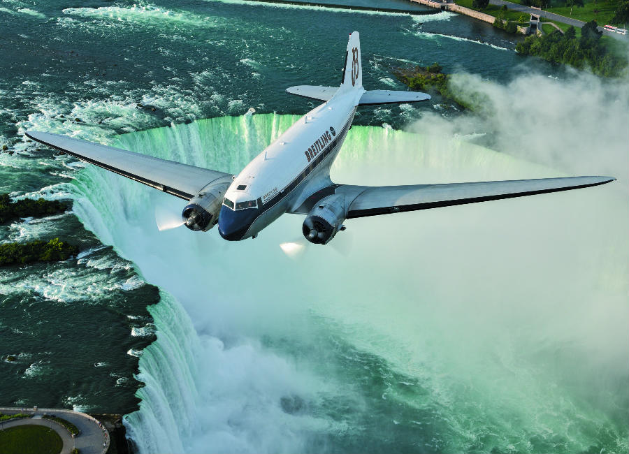 Breitling Navitimer DC-3 Un suggestivo passaggio sulle Niagara Falls