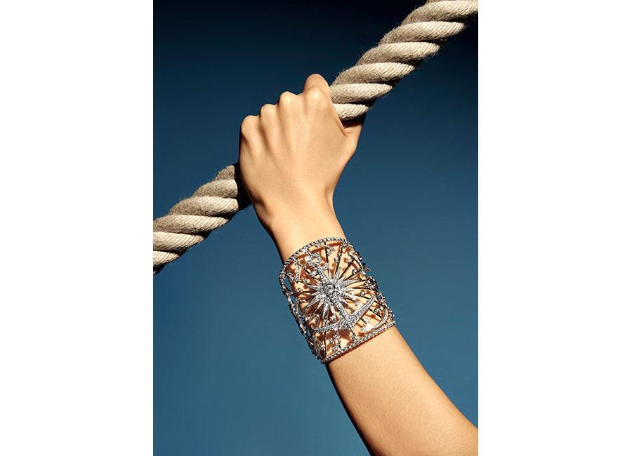 "Flying Cloud - Fine Jewelry - Chanel: bracciale ""Sailor Tattoo"""