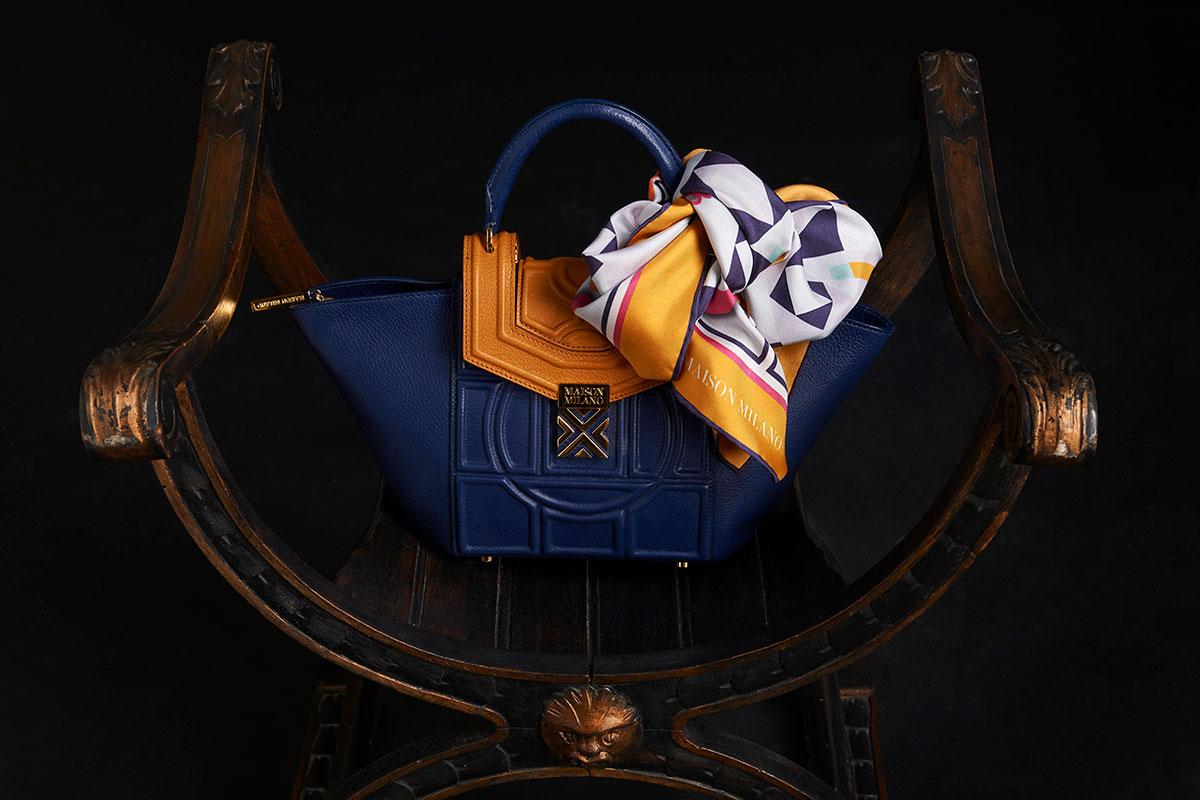 accessori-Maison-Milano-Palladia-Blue+Foulard-Mosaic