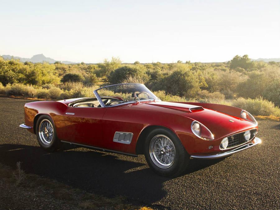 Ferrari - il Lotto 125 - Ferrari 250 GT LWB California Spider by Scaglietti