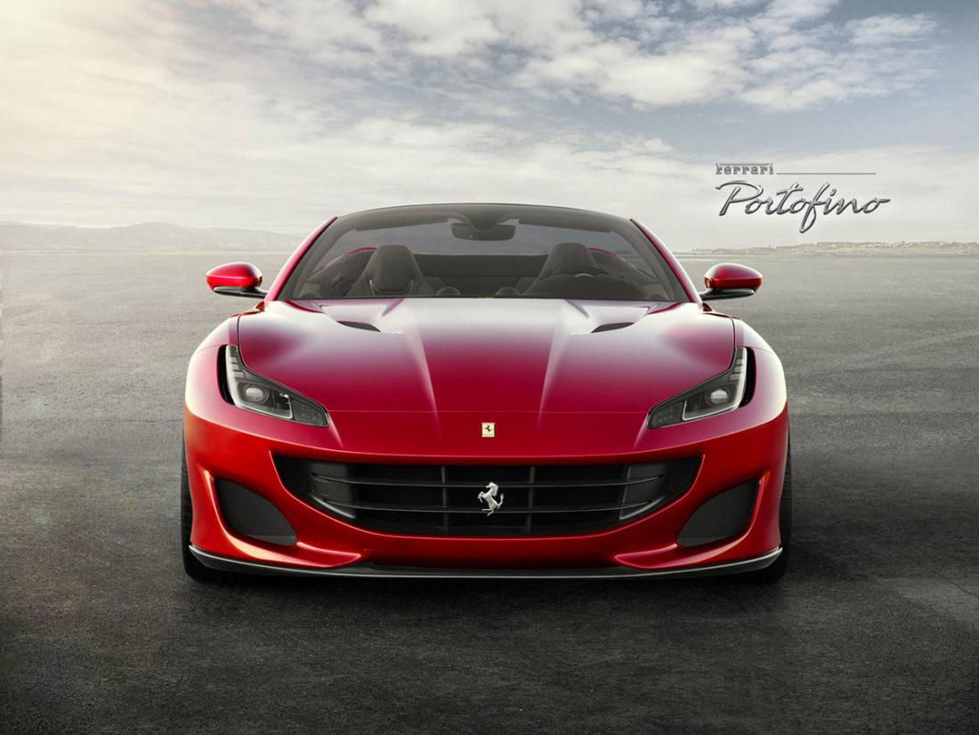 Ferrari Portofino - immagine frontale