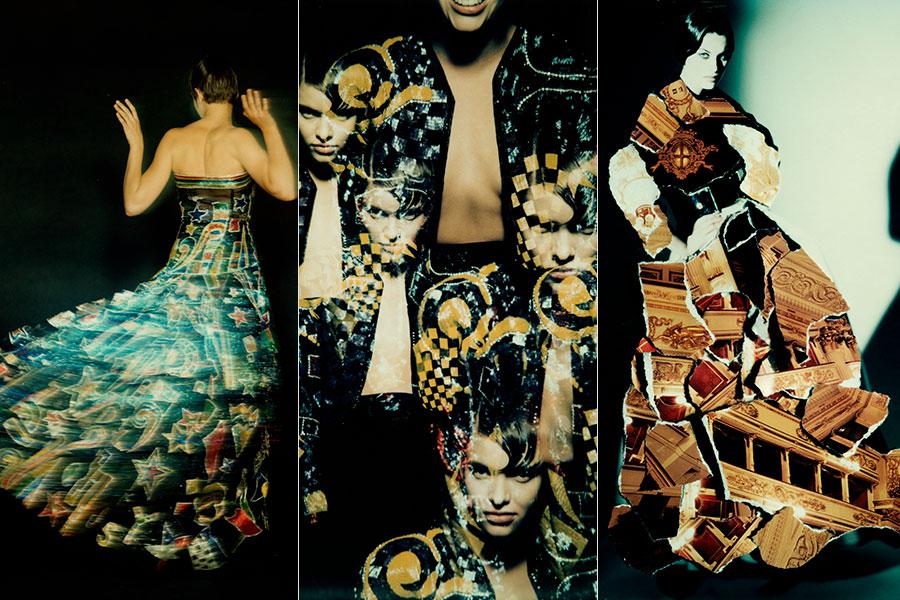 Gianni Versace - Le notti di Kandinskij 2 ottobre 1989- Versace su Milano 3 ottobre 1992 credits Giovanni Gastel