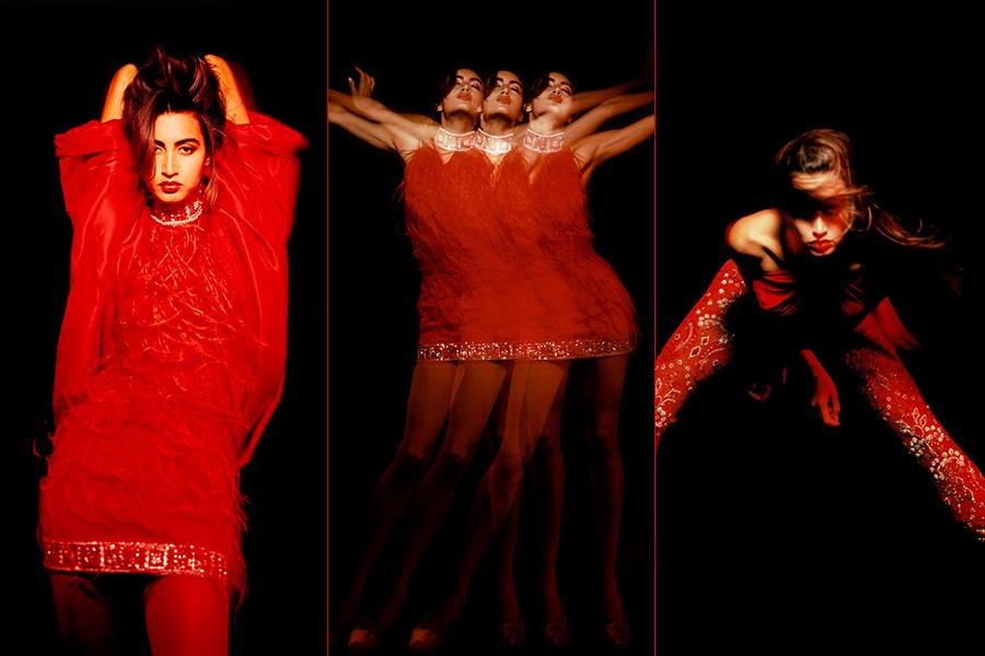 Gianni Versace - Maria Cabrera Buccellati, 1991 - credits Giovanni Gastel