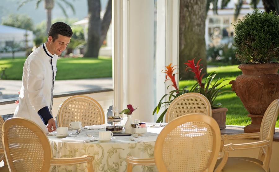 Grand Hotel Quisisana - breakfast