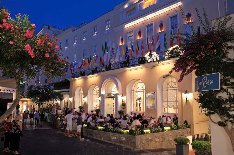 Grand Hotel Quisisana - ingresso