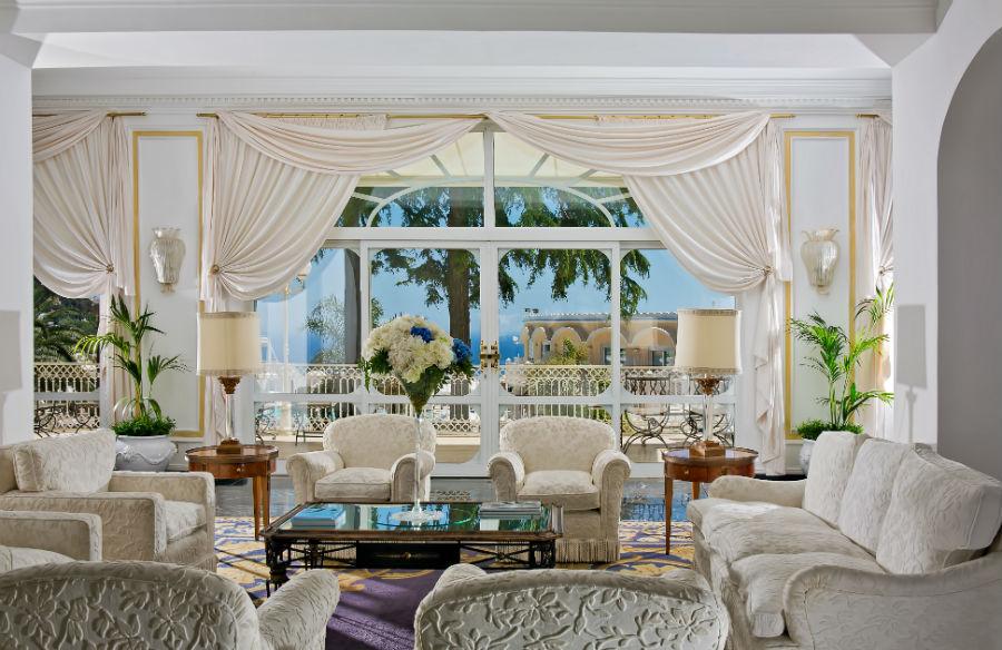 Grand Hotel Quisisana - lobby