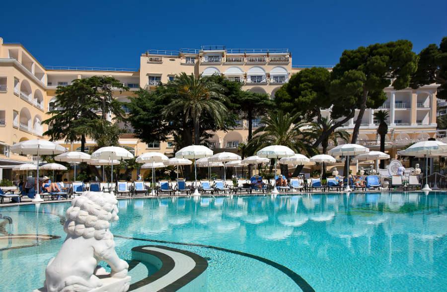 Grand Hotel Quisisana - Pool view