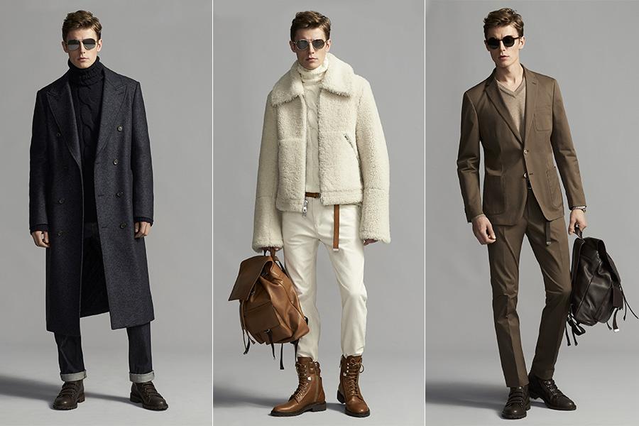 Michael Kors - look maschili su 3 modelli - Michael Kors F/W 2017-2018
