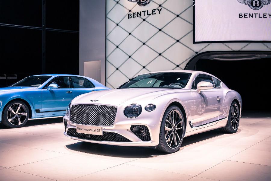 New Continental GT - Bentley in mostra all'IAA di Francoforte