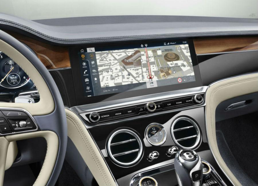New Continental GT - Bentley - Display touch da 12,3 pollici