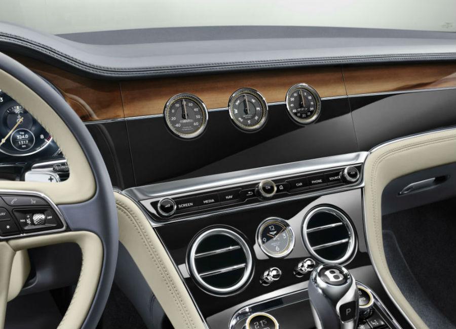 New Continental GT - Bentley - Pannello dotato di bussola, termometro e cronometro