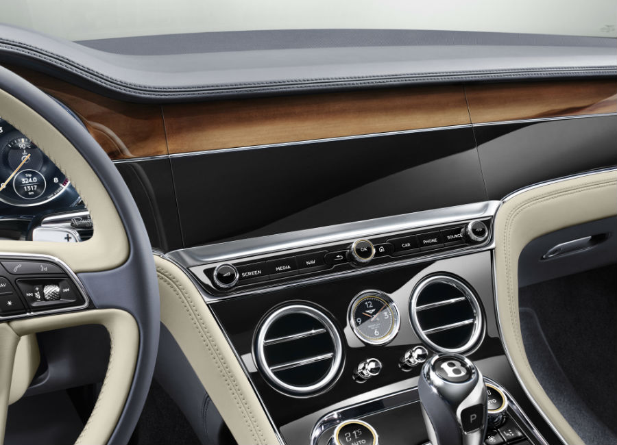 New Continental GT - Bentley - Rivestimento in legno