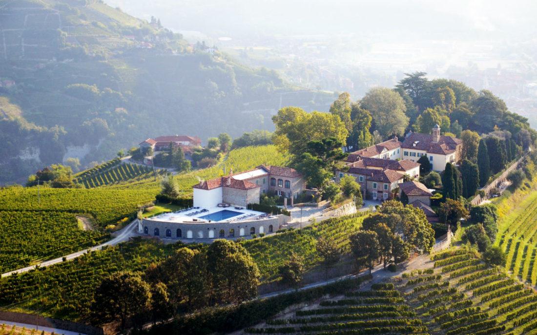 San Maurizio - Relais in Piemonte, veduta dall'alto
