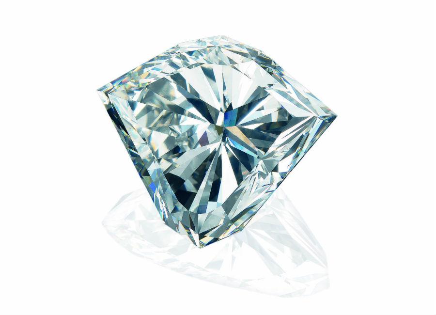 Diamante smontato - Christie's - Magnificent Jewels - Lotto 425