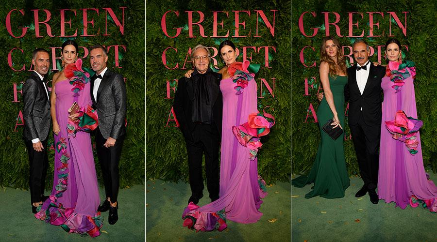 Livia Giuggioli Firth - Green Carpet Awards