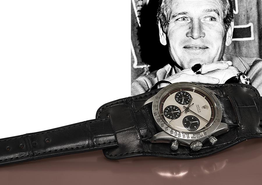 L'orologio con un ritratto dell'attore (credit: Phillips Watches).