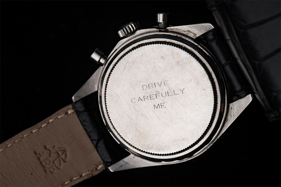 Il Rolex Daytona di Paul Newman con inciso Drive Carefully Me