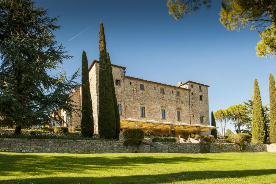 Veduta del Castello di Spaltenna
