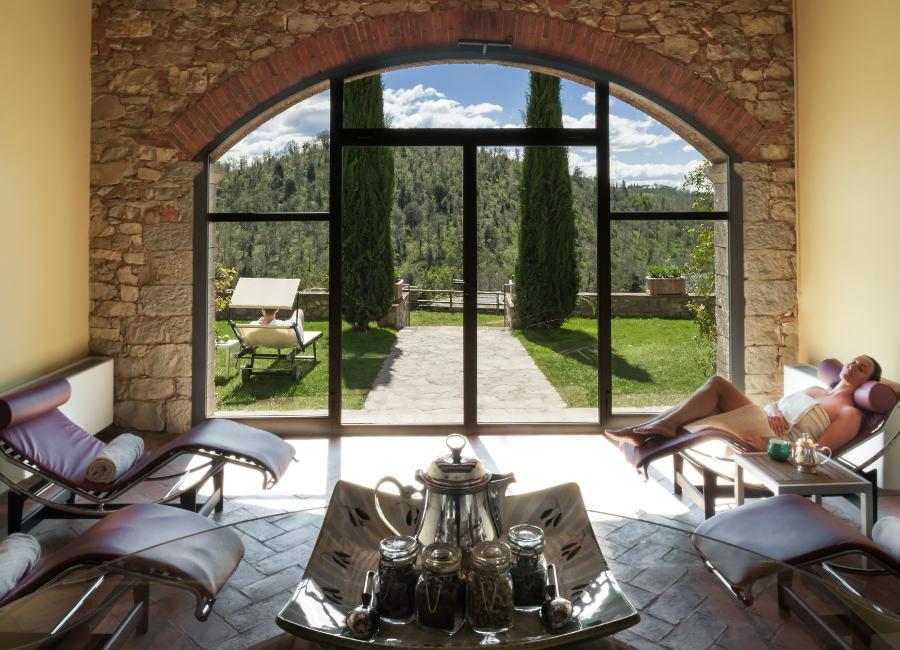 Castello di Spaltenna - Sala Relax SPA